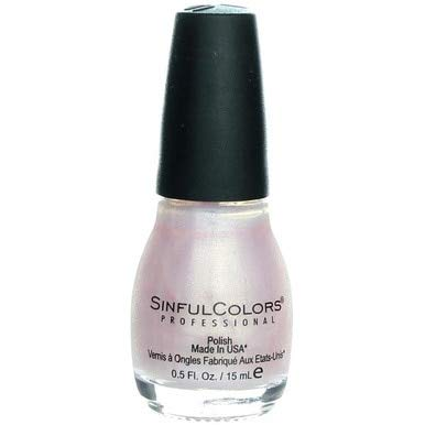 (Sinful Colors Professional Nail Polish Enamel, Glass Pink [376] 0.50 oz (Pack of 2))