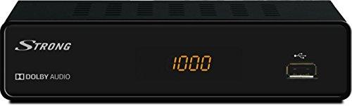 STRONG SRT 3000 HD Kabel-Receiver für digitales Kabelfernsehen (DVB-C, HDMI, SCART, USB) schwarz