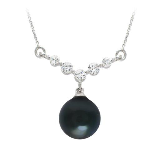 Diamond Manufacturers - Pendentifs Femme avec 5 diamanten - Platine