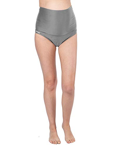 Oceanlily Over The Belly Maternity Bikini Bottom Charcoal S