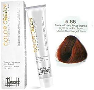Technique Color Cream – Tinta 100 ml 5.66 Castano Chiaro Rosso Intenso