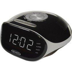Jensen Bluetooth Radio Alarm Clock Black (JCR-228)