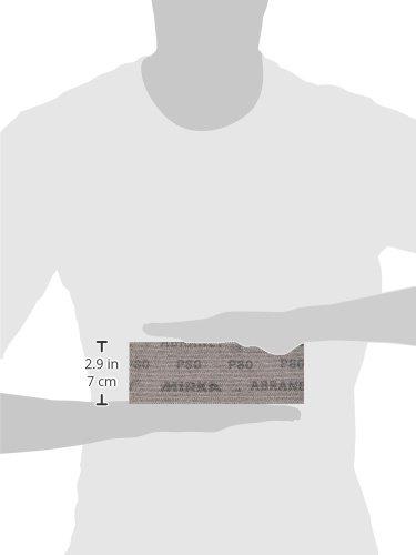 x 8 in Mesh Grip Sheet Assorted Grits Mirka 9A-150-AP Abranet 2-3//4 in