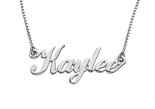 Personalized Name Necklace Customized Name Necklace 925