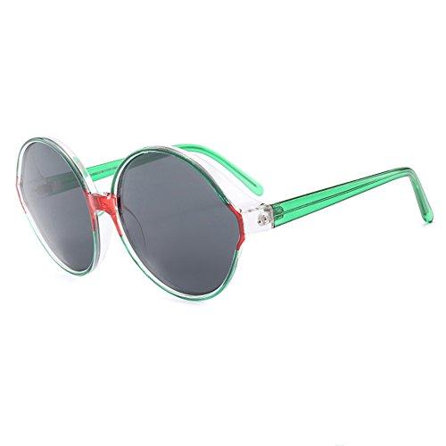 Gafas Tendencia Green Mujer Green Unidos Polarizadas Sol Gafas Conducción Gafas Sol De Europa Estados De Y Moda De Salvaje rUwRArO