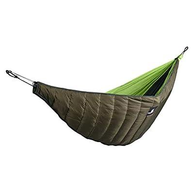 Ya-tube Double Hammock Underquilt, Lightweight Winter Camping Under Blanket, Warm Hammock Under Quilt Insulation Foldable Full Length