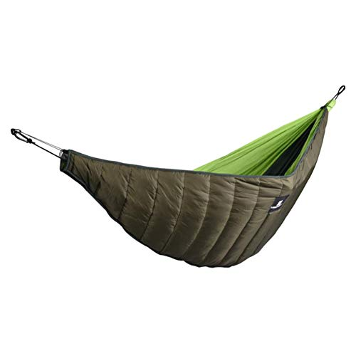 Price comparison product image Ya-tube Double Hammock Underquilt,  Lightweight Winter Camping Under Blanket,  Warm Hammock Under Quilt Insulation Foldable Full Length