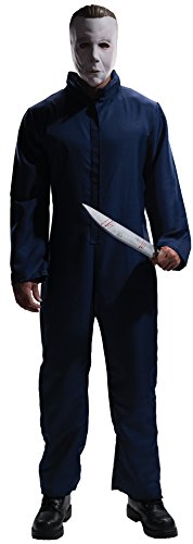 [Rubie's Costume Halloween Movie Michael Myers  Jumpsuit and Mask, Black, Standard] (Michael Myers Costumes For Adults)
