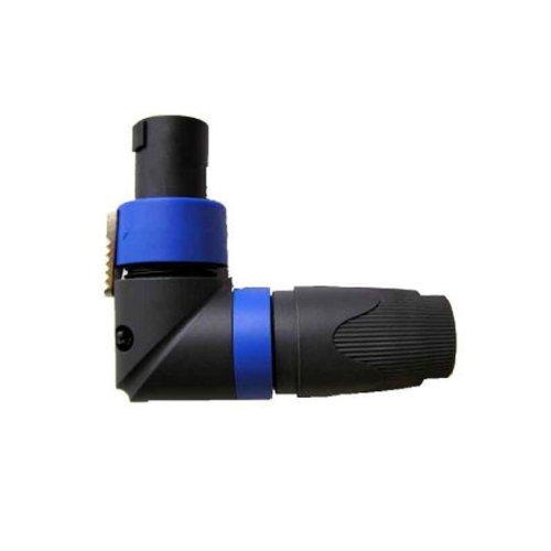 Neutrik NL4FRX 4-Pin Cable MT Speak-On SPX - Right 4 Pin Angle