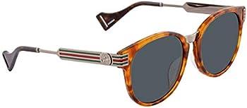 Gucci Green Round Sunglasses