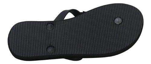 Dunlop - zapatilla baja mujer Negro - negro