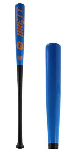 Bamboo Wood Softball Bat (Brett Bros. GB5 Superlight Wood Softball Bat: GB5SB Electric Blue 32 inch)