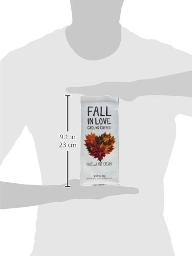 Fall In Love Flavored 12 Oz Ground Coffee (Vanilla Nut Cream, 12 oz) by Paramount Coffee (Image #3)