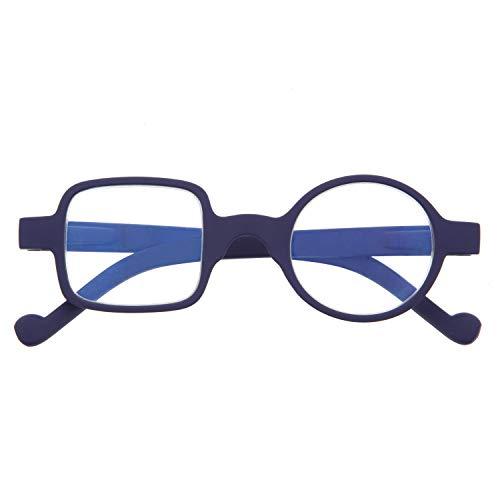 DIDINSKY Reading Glasses. Anti Blue Light and Anti Glare. Indigo +3.0 - DALI