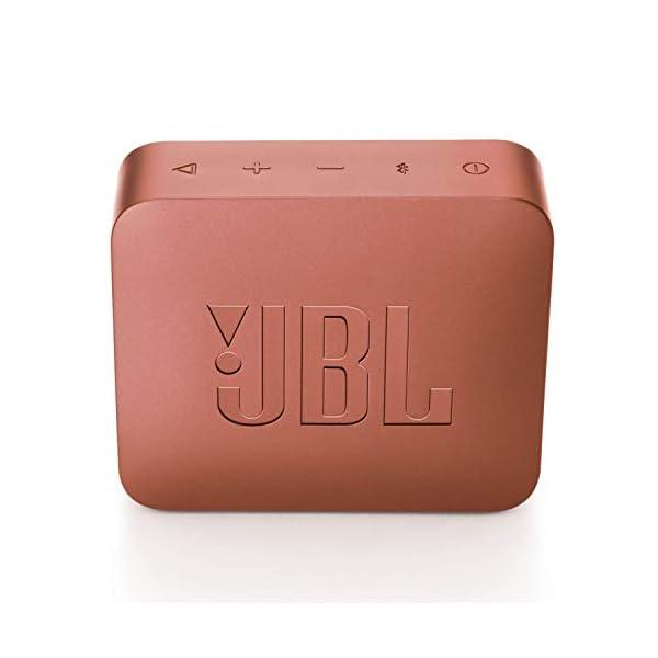 JBL Go 2 - Mini enceinte Bluetooth Portable - Étanche pour Piscine & Plage Ipx7 - Autonomie 5hrs - Qualité Audio JBL - Rose Foncé 5