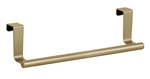 Oven Door Bar - InterDesign Forma Over-the-Cabinet Kitchen Dish Towel Bar Holder - 9