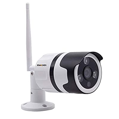 Home Security Camera, 720P HD Night Vision WiFi Bullet Cameras IP66 Waterproof Surveillance, IR LED Motion Detection IP Cameras for Indoor and Outdoor from Bewachen