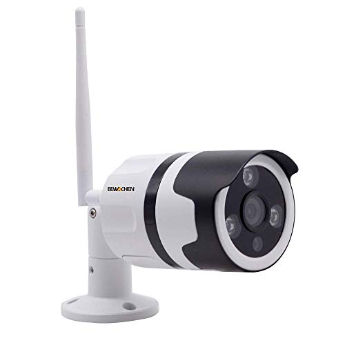 Home Security Camera, 720P HD Night Vision WiFi Bullet Cameras IP66 Waterproof Surveillance, IR LED Motion Detection IP Cameras for Indoor and Outdoor
