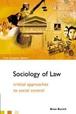 The Sociology of Law - Critical Approaches to Scocial Control- Second Edition