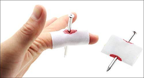 Unb Prank Joke Toy Fake Nail Through Finger Trick Halloween Kids GH 2 Pk, by Azaleahome -