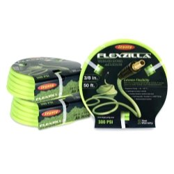 Flexzilla ZillaGreen 3/8'''' x 50' Air Hose with 1/4'''' Threads Tools Equipment Hand Tools
