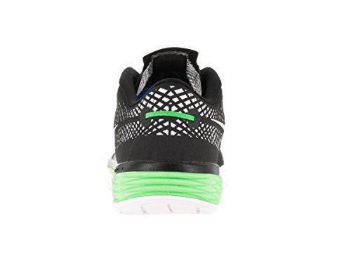 Nike Hommes Lunaire Caldra Chaussure De Course Noir / Blanc / Vert Métallique / Vltg Grn