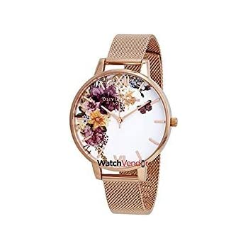 Olivia Burton Enchanted Garden White Dial Ladies Watch OB16EG82