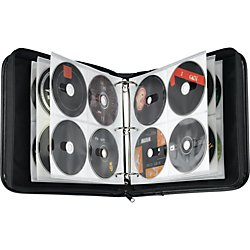 Case Logic BNB-208 208 Capacity CD/DVD Prosleeve Nylon Binder - Case Logic Binder Dvd