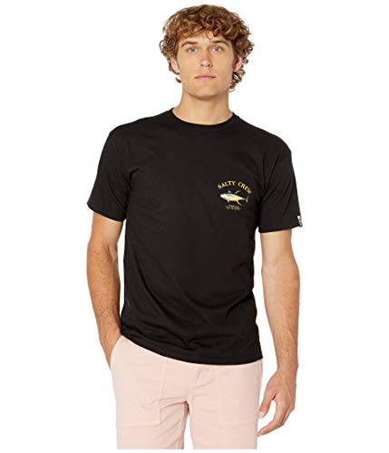 Salty Crew Men's Ahi Mount Short Sleeve Tee Black Medium