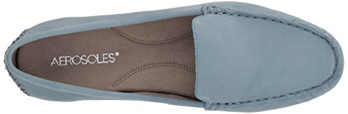 Women's On Aerosoles Over Drive Slip nubuck chambray Loafer AwddIrq