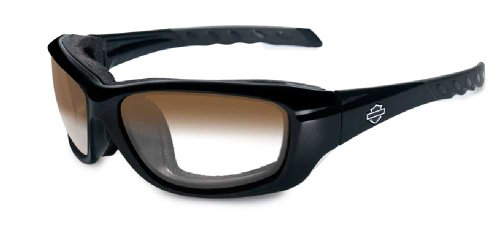 Harley-Davidson Gravity LA Brown Lens w/ Gloss Black Frame Sunglasses HDGRA08