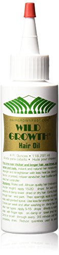 Wild Growth Hair Oil 4 Oz - this stuff is the bomb if you are trying to grow you hair back fast. People with trichotillomania are obsessed with hair regrowth, I know I am in my life. This and other products have helped me with this hair pulling disorder, click here to see what remedies and treatment solutions I am using to stop TTM.
