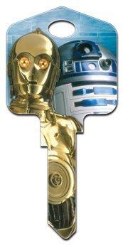 Star Wars C-3PO & R2-D2 KW House Key Howard Keys