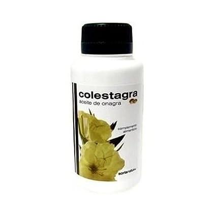 Colestagra Aceite de Onagra 500 perlas de Soria Natural