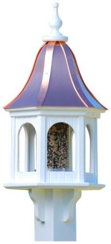 The Birdhouse Chick - Copper Gazebo Bird Feeder-PVC 28x12