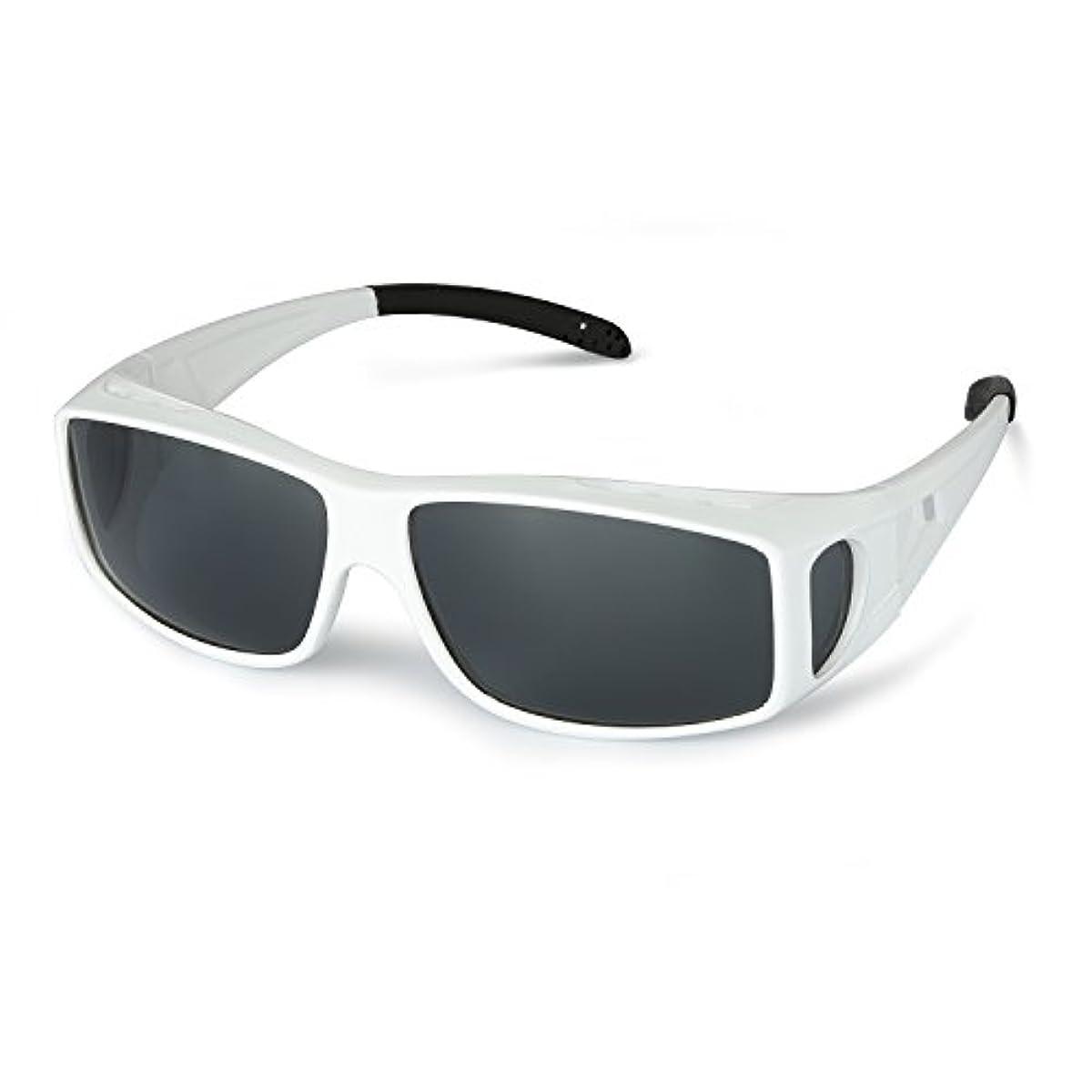 [해외] 오버 썬글라스 편광 렌즈 편광 썬글라스 UV400 UV컷 드라이어이브 골프 낚시용 운전용 패션