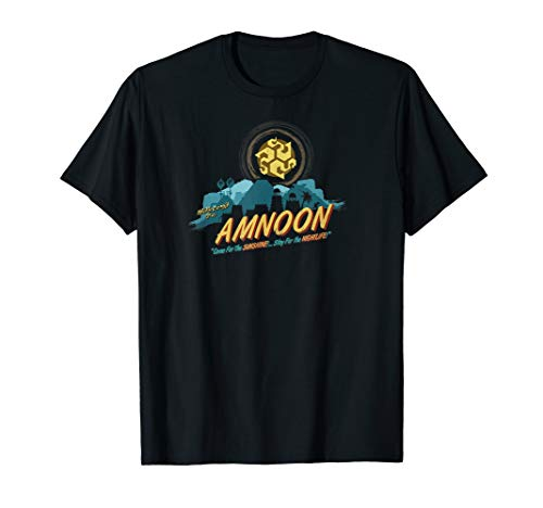 Official Guild Wars 2: Path of Fire City of Amnoon T-shirt (Guild Wars 2 Path Of Fire Trial)