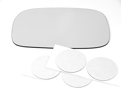 Rear Backing Plate (00-05 Toy Celica Left Driver Mirror Glass Lens w/Adhesive USA no rear backing plate)