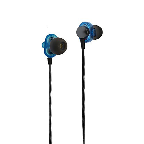 Cehensy Earphones, In-ear Earbuds, Dual Dynamic Drivers, Noise CancellingHigh Fidelity Stereo Bass Headphones with Mic and Remote for iPhone, iPod, iPad, Samsung and other Android Phones etc by Cehensy