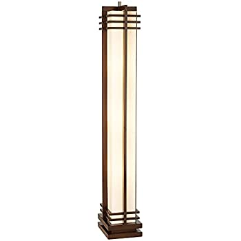 Possini Euro Design Deco Style Column Floor Lamp Tiffany