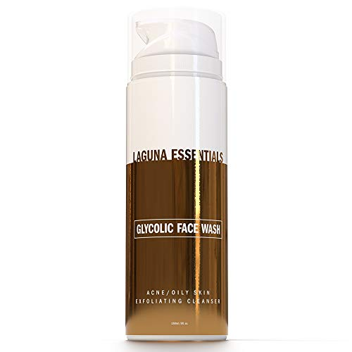 Glycolic Acid Face Wash - Anti Aging AHA Face Wash & Exfoliating Cleanser