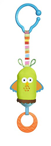 - Tiny Love Friend Wind Chime Clip on Toy, Owl