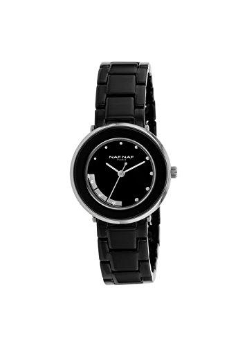 Reloj NAF NAF RD B/Ceramic pedrería fantasía - n10714 - 203: Amazon.es: Relojes