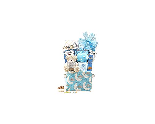 Baby Blue Newborn Gift Basket