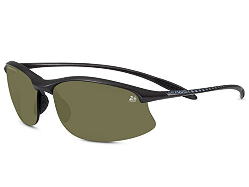 Serengeti Satin Sunglasses - Serengeti Eyewear MAESTRALE Limited Edition 24H LE MANS satin black / polarized PHD 555 8476