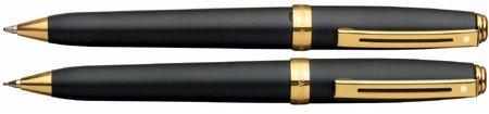 Sheaffer Prelude Black Matte /GT .7mm Pen & Pencil Set - (Sheaffer Prelude Collection)