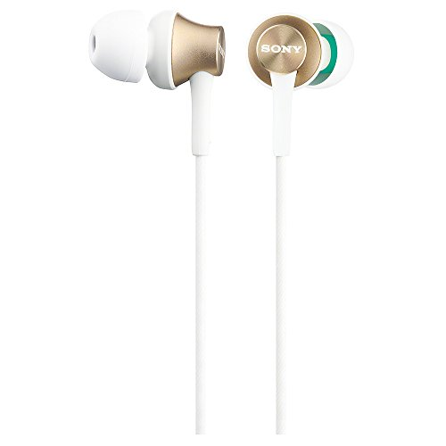 Sony In-Ear Monitor Headphones MDR-EX450-N (Pearl Gold) by SONY