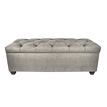 Surprising The Sole Secret Obsession Series Diamond Tufted Large Upholstered Lift Top Shoe Storage Ottoman With Shoe Slots Platinum Ocoug Best Dining Table And Chair Ideas Images Ocougorg