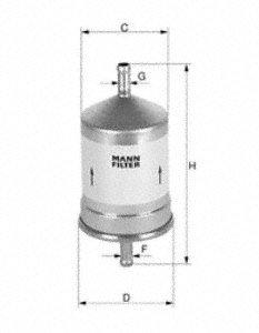 Fuel Filter MANN WK 516/1