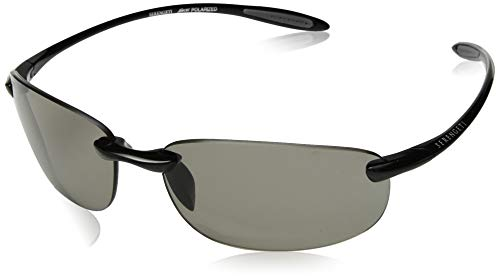 Serengeti Nuvino Polar Sunglasses,Shiny Black with CPG ()